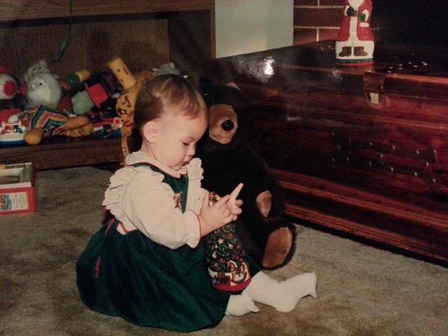 she's always been a bear!