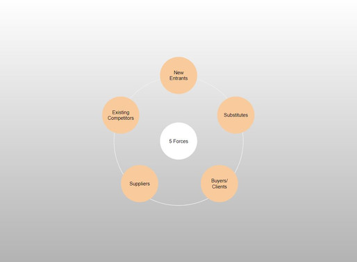 5 Forces - Business Strategie-Entwicklung Teil 3.1