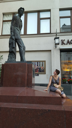 and in 2015, Sara visited Moscow and St. Petersburg (but mostly Anton)