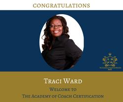 congratulations Traci