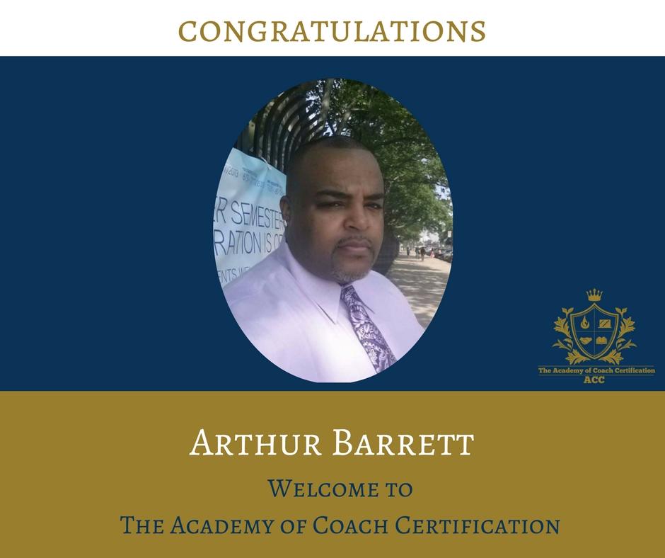 congratulations Arthur