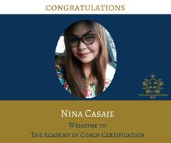 congratulations Nina