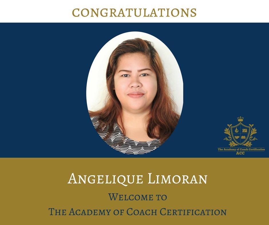 congratulations Angelique