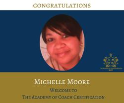 congratulations Michelle