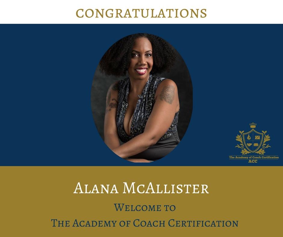 congratulations Alana