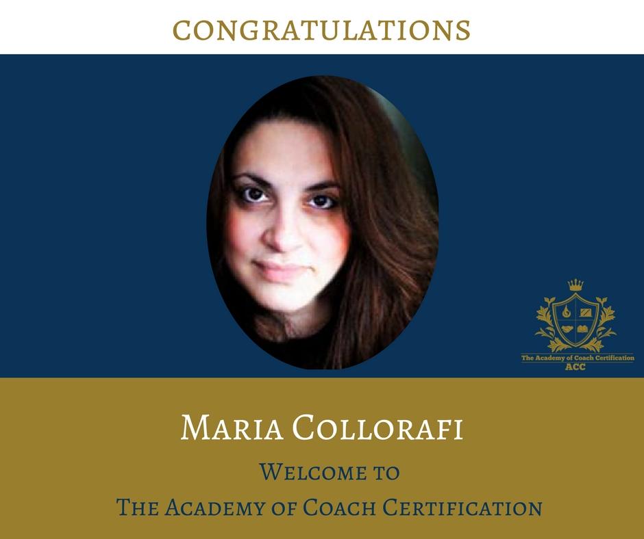 congratulations Maria