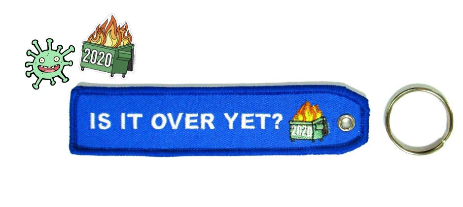 Over Yet? Bag Tag