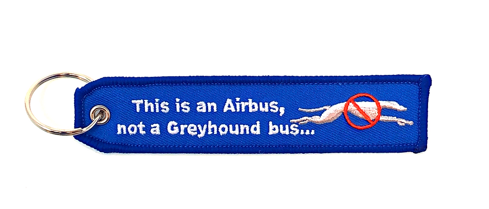 This Is an Airbus...Bag Tag