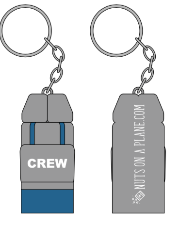 Cropduster Luggage Charm: Jumpseat