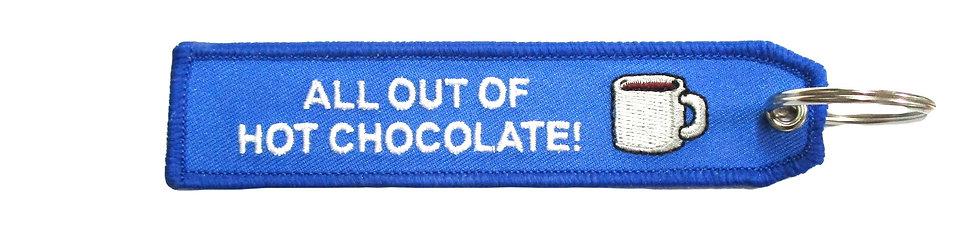 """Hot Chocolate""  Bag Tag"