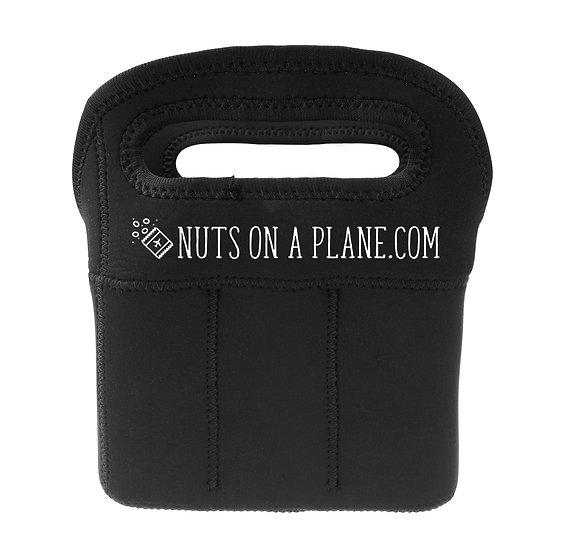 Black Neoprene 6-pack Can Carrier