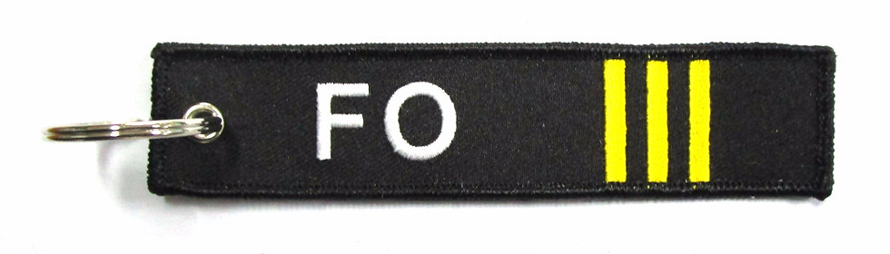 Pilot Bag Tag - First Officer