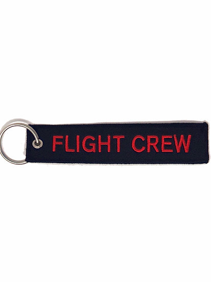 Flight Crew Bag Tag-Black