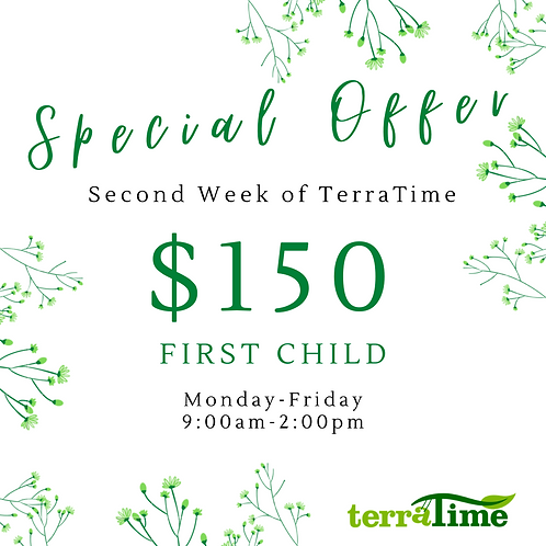 Special Offer: Second Week