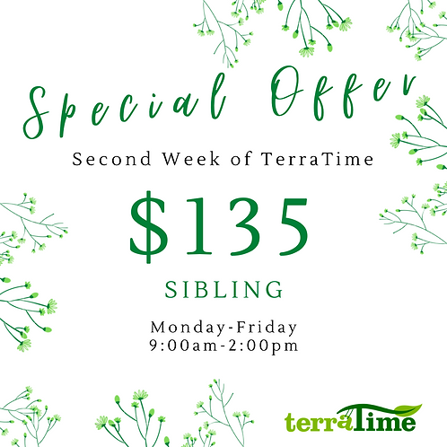 Special Offer: Second Week (sibling)