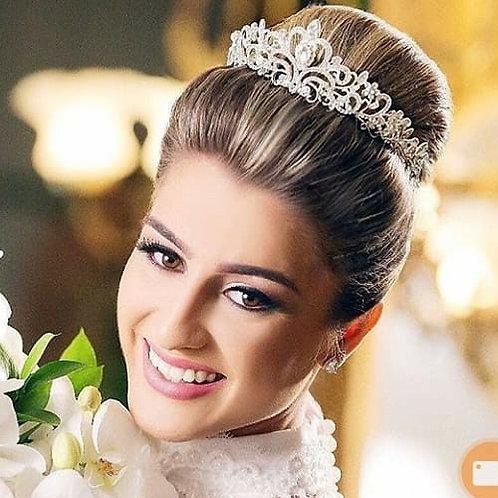 Coroa de cristal Modelo Yasmin