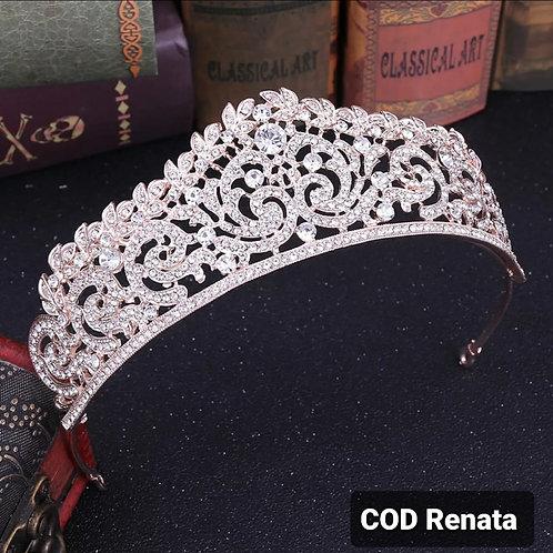 Coroa de cristal Modelo Renata
