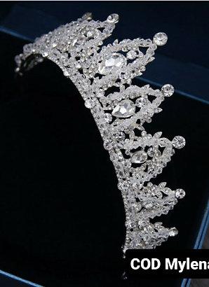 Coroa de cristal Modelo Mylena