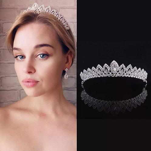 Coroa de cristal Modelo Tamires