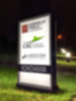 May 2020 Exterior Sign 3 with Grass SML.