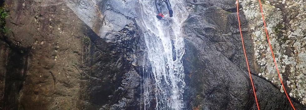 Glijbaan canyoning
