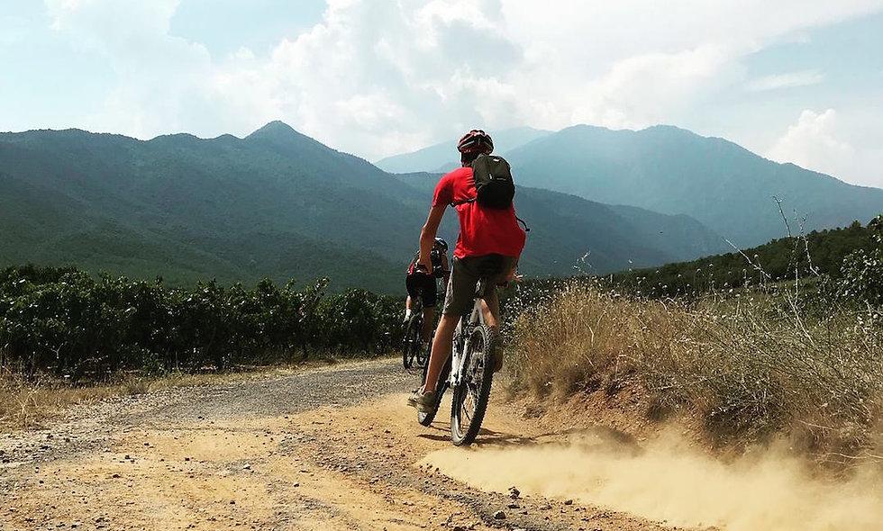Mountainbike moeilijk