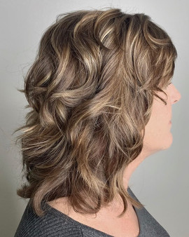 Color & Textured Cut by Rita!