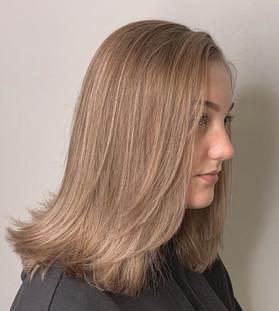 Rose Blonde, Hair Model Maddie