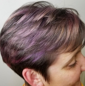 Purple Fashion Color Model by Kayleigh!