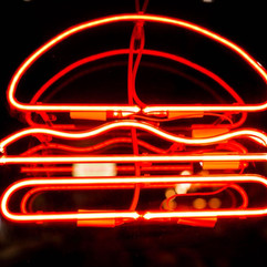 NEON DESIGN MB BURGER HERZLIYA