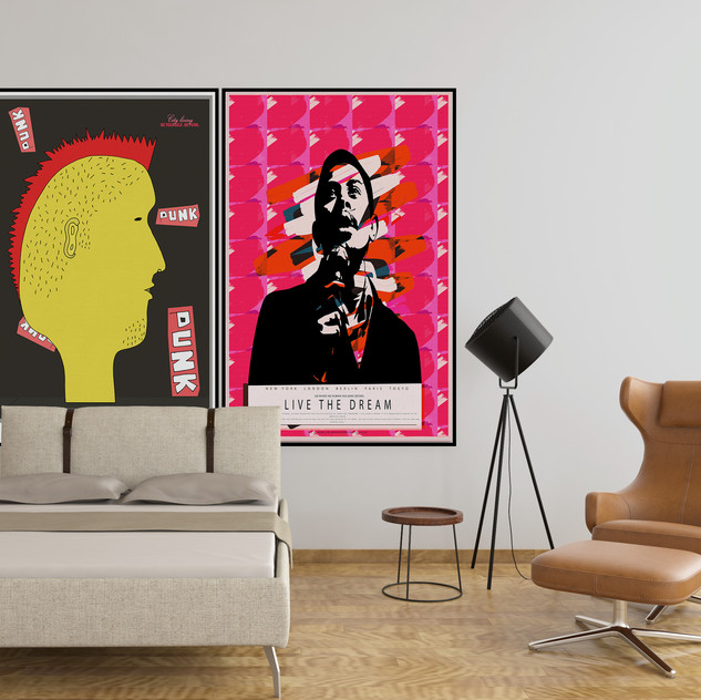 PUNK & I HAVE A DREAM | LIMITED EDITION PRINTS