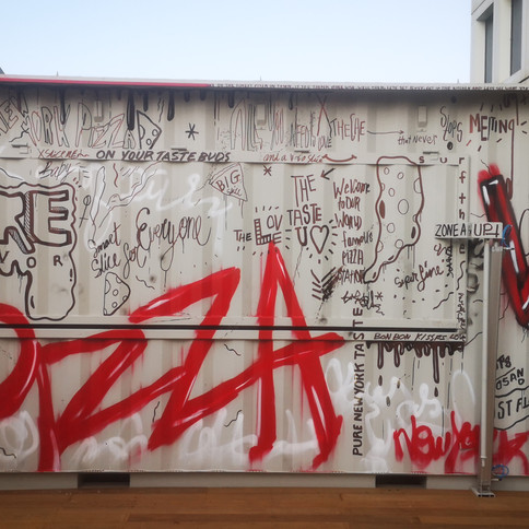 ARCAFFE   TOP OF THE WORLD PIZZA   AZRIELI CENTER -ROOF