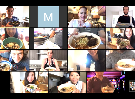 """""""Highly Recommend"""" this Virtual Team Building Ramen Class for a Fun and Bonding Experience."""
