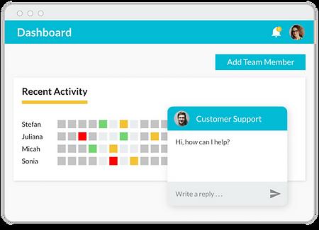 Talaera Team Progress Tracking Dashboard