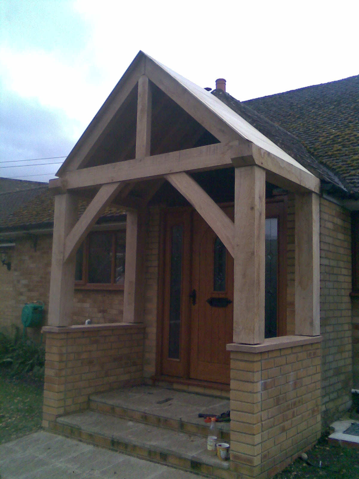Hardwood Porch