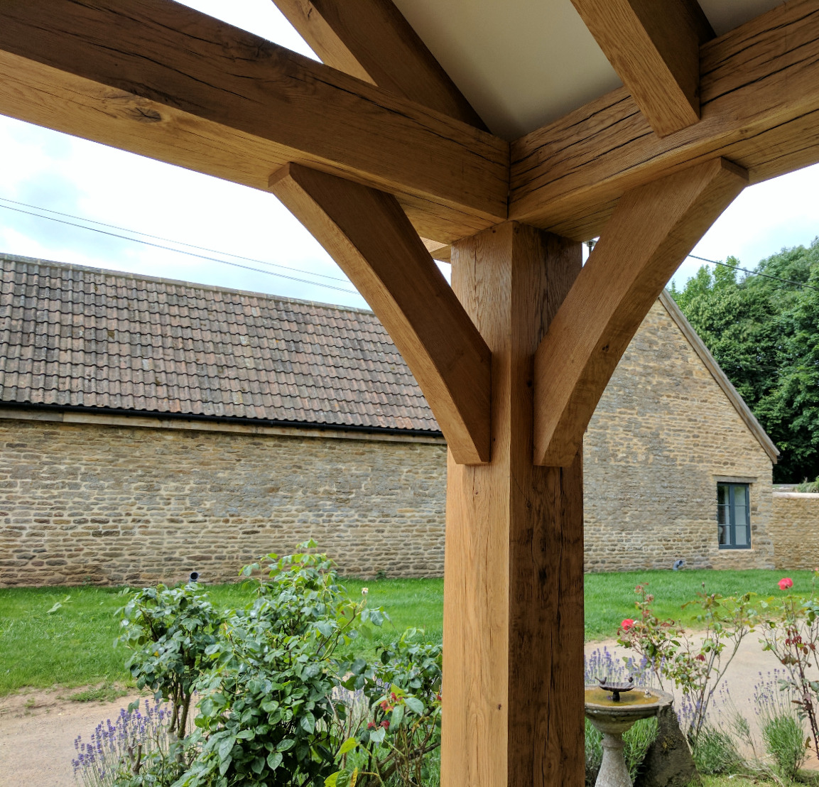 Traditional Oak Porch