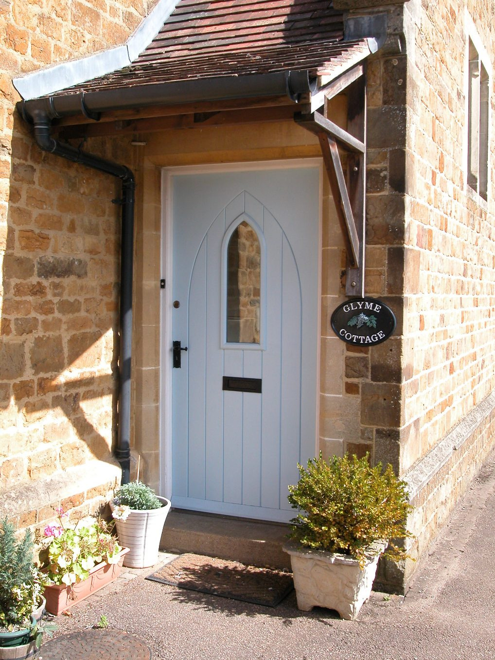 Hardwood Cottage Style Front Door
