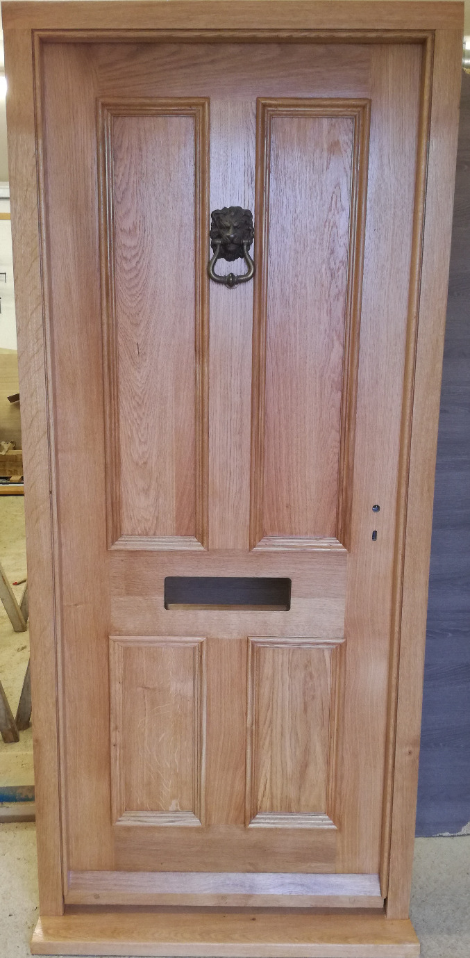 Oak Front Door Joinery