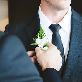Suit and Corsage