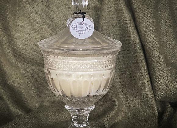 LARGE vintage candle