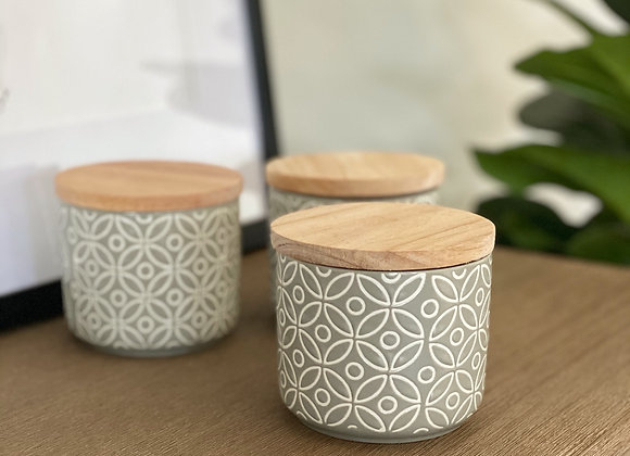 Pattern canister candle (Exclusively Online only)