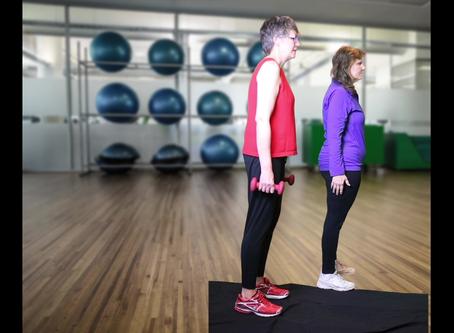 Bone Health Exercise: Squats