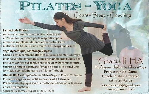 Ghania Ilha Tendanse Eve Nîmes Yoga Pilates