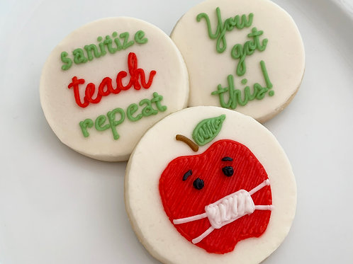 Sanitize, Teach, Repeat