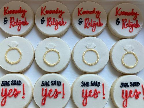 She Said Yes!  -  $30-$31