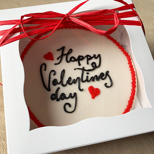 Valentine's Day Small Cookie Cake