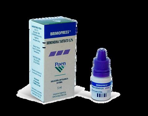 BRIMOPRESS® Ophthalmic Solution (Brimonidine 0.2%)