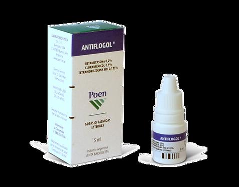 ANTIFLOGOL ® Ophthalmic suspension (Betamethasone 0.2 %- Chloram-phenicol 0.5%-)