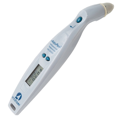 Accutome AccuPen Handheld Applanation Tonometer.