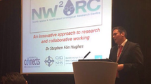 Dr Stephen Fôn Hughes was an invited speaker at the MediWales NHS Collaboration Conference in Cardif